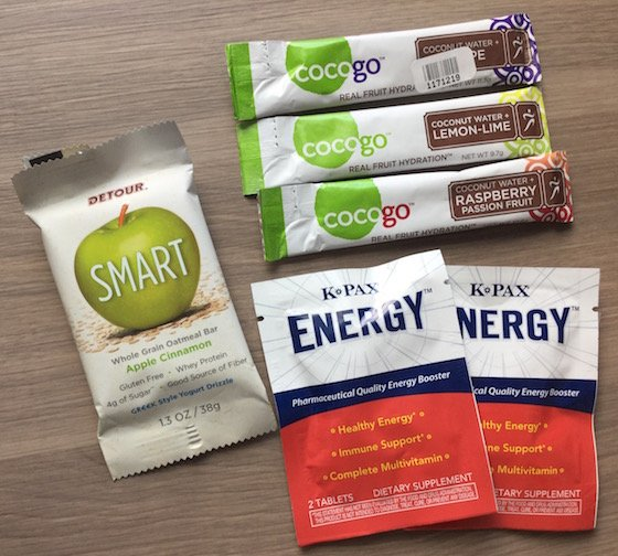 PrettyFit Fitness Subscription Box Review + Coupon - Feb 2015 Energy