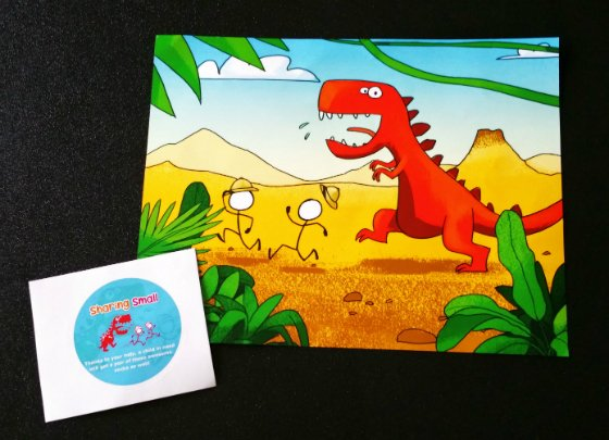 Sharing Small Subscription Box - January 2015 Dino