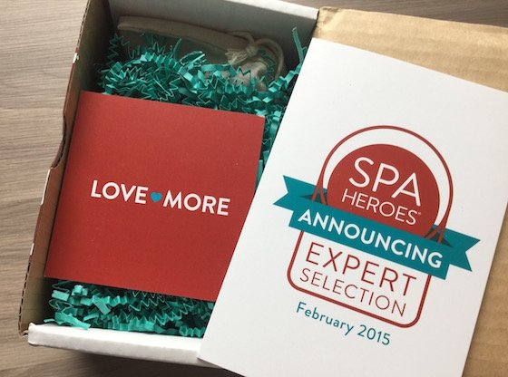 Spa Heroes Subscription Box Review - February 2015 First Look