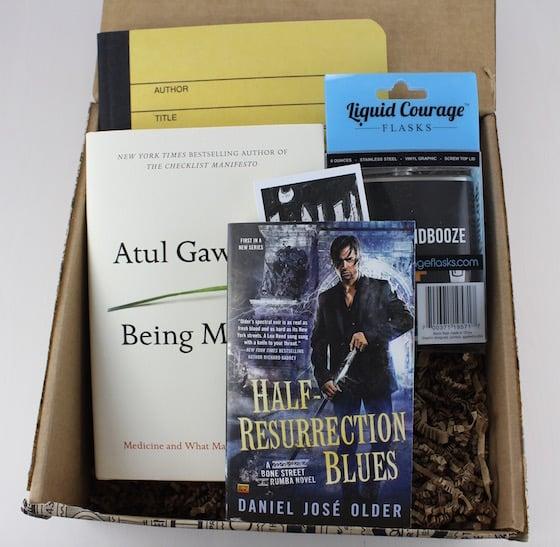 Book Riot Quarterly Subscription Box Review #BKR06 Items