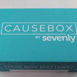 CAUSEBOX Subscription Box Review – Spring 2015 #CAUSEBOX02