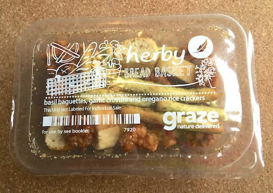 Graze Subscription Box Review + Free Box Coupon - March 2015 Herby