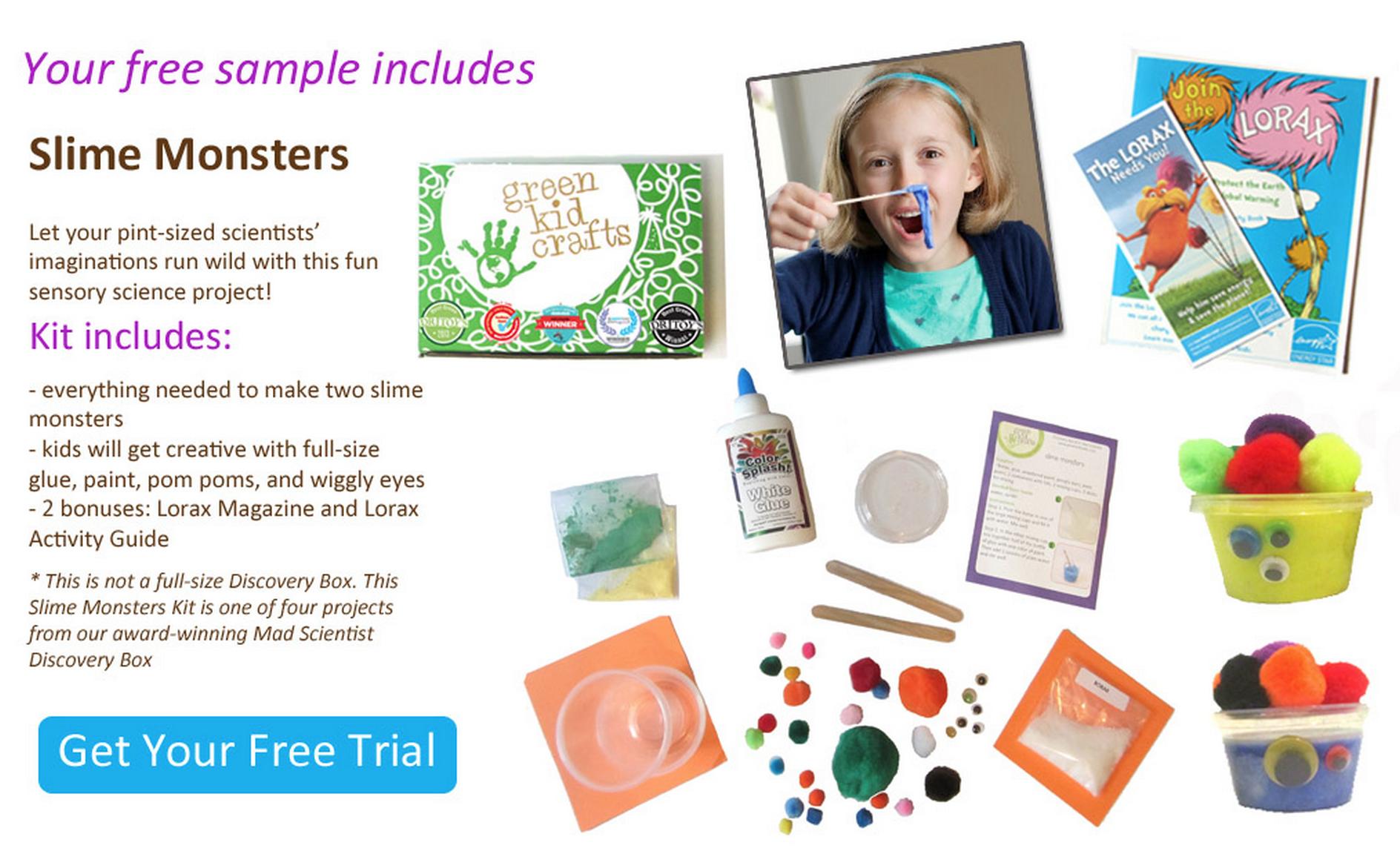 Green Kid Crafts Free Trial Box Offer! Kit