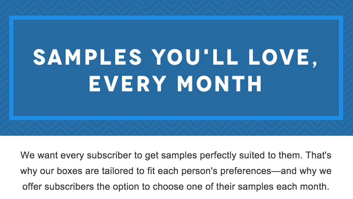 Birchbox April 2015 Sample Choice Spoilers