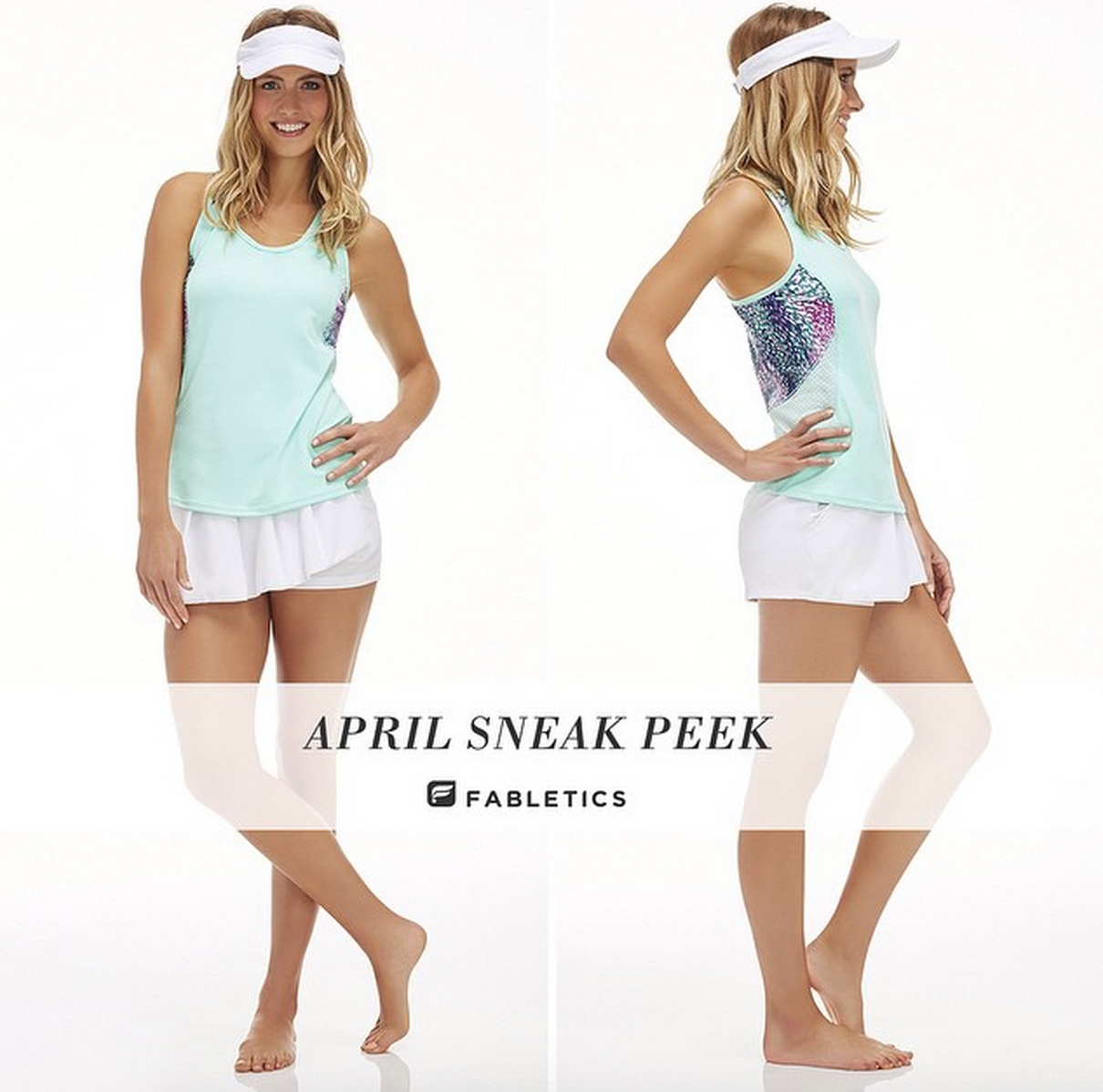 Fabletics April 2015 Spoilers & 50% Off Coupon Shorts Outfit
