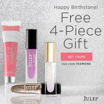 Free Julep Maven April Birthstone Welcome Box!