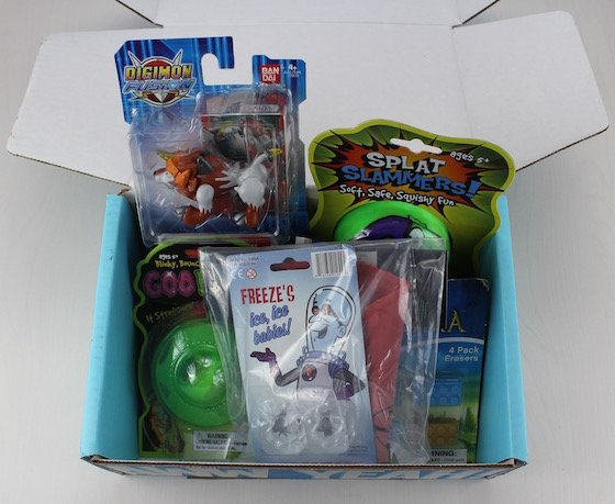 Nerd Block Junior Boys Subscription Box Review – March 2015 Items