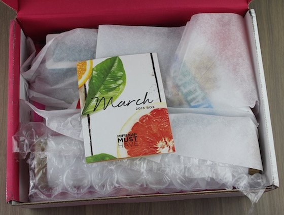POPSUGAR Must Have Box March 2015 Review + Coupon Unboxing