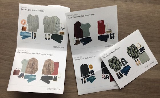 Stitch Fix Review – March 2015 Cards