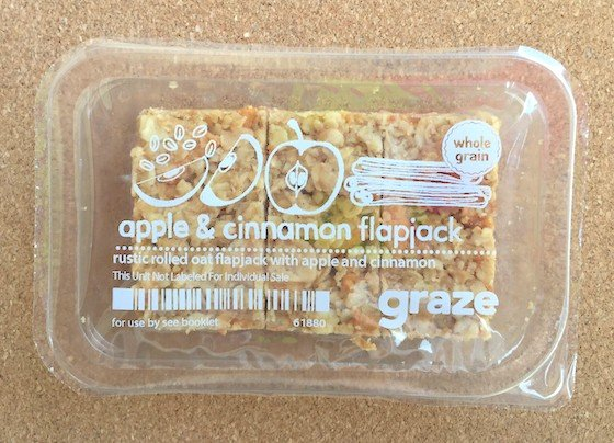 Graze Subscription Box Review + Free Box Coupon – April 2015 Flap jack