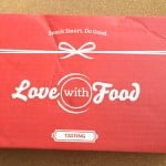 Love with Food Subscription Box Review & Coupon – April 2015 Box