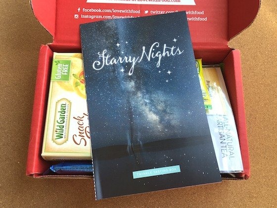 Love with Food Subscription Box Review & Coupon – April 2015 Inside