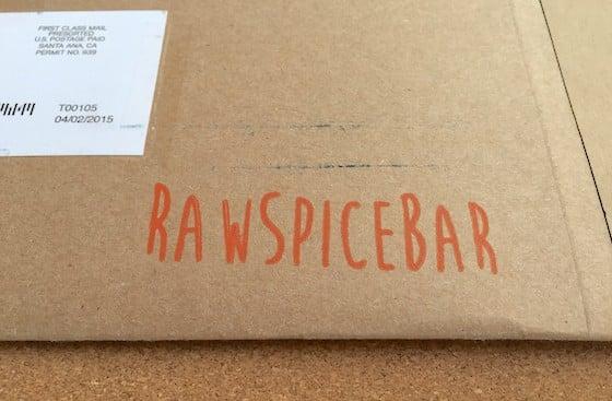RawSpiceBar Subscription Box Review - April 2015 - Kraft