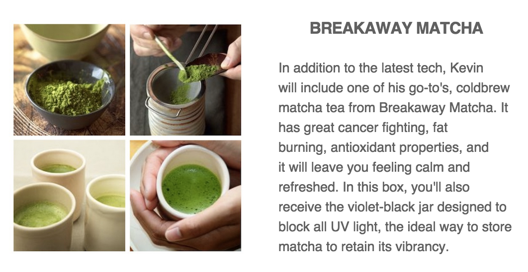 Kevin Rose Quarterly Box Spoilers #KEV02 Matcha