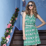 Golden Tote May 2015 First Look! Green Dress