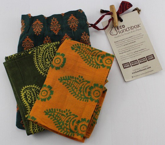 GlobeIn Artisan Gift Box Subscription Review – April 2015 Napkins