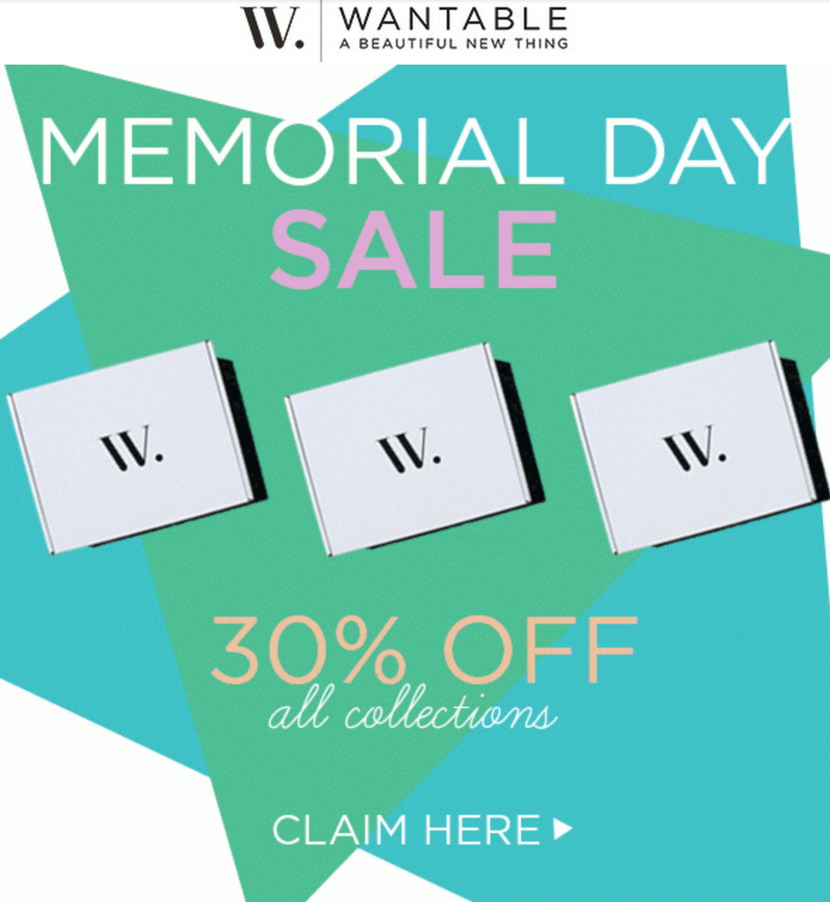 Wantable Memorial Day Sale!