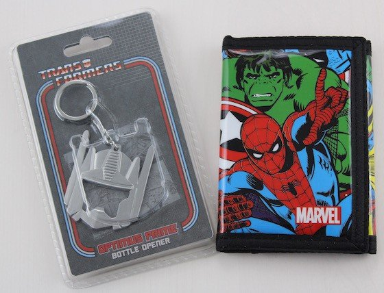 My Geek Box Subscription Review – April 2015 Wallet