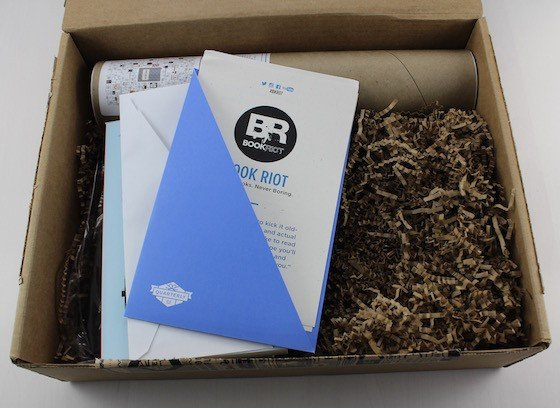 Book Riot Quarterly Subscription Box Review #BKR07 Box