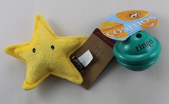 BarkBox Subscription Box Review & Coupon – June 2015 Toys