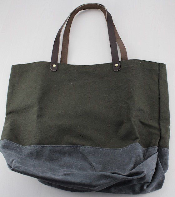 "Bespoke Post Review & Coupon – June 2015 ""Roam"" Tote"