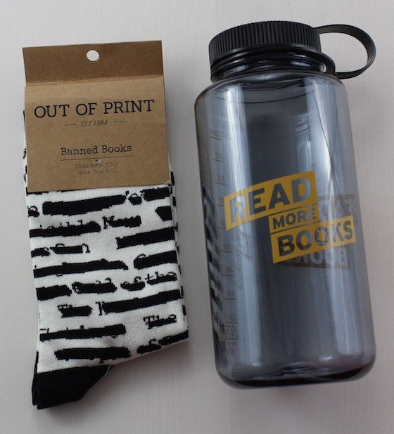 Book Riot Favorite Beach Reads 2015 Box Review Socks