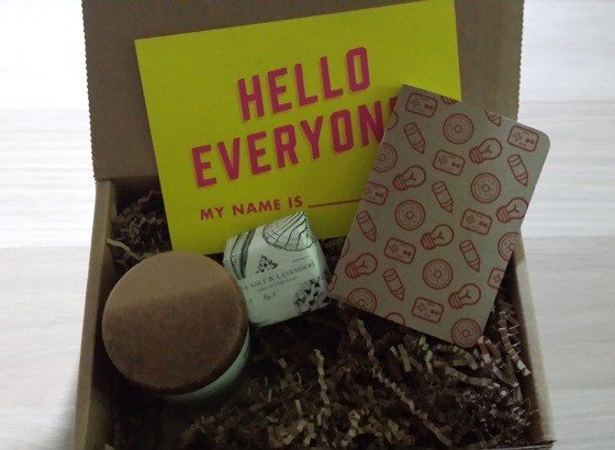 Craftly Subscription Box Review - June 2015 Inside