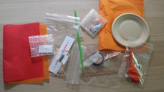 Groovy Lab in a Box Subscription Box Review – April 2015 -supplies