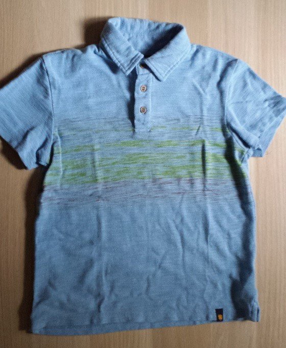 Sprouting Threads Subscription Box Review - May 2015 Polo shirt