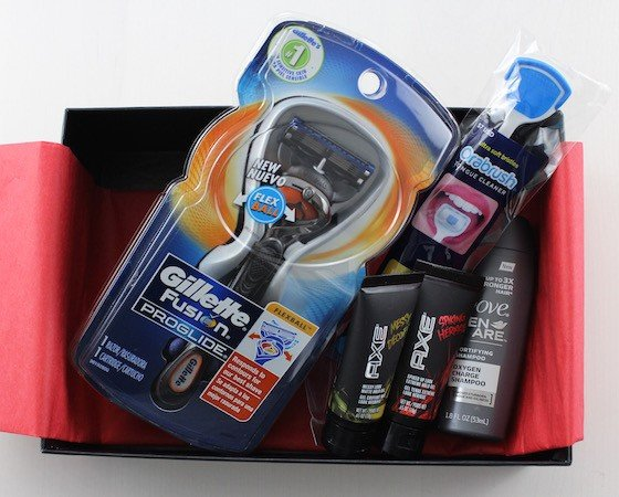 Target Beauty Box for Men Review – Summer 2015 Items