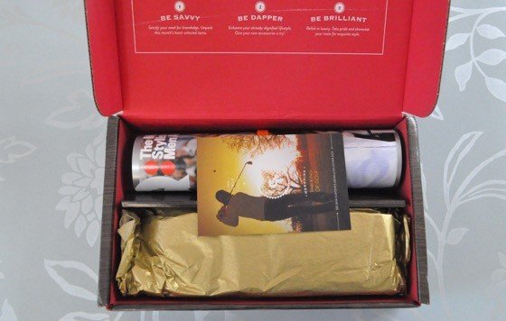 Gentleman's Box Subscription Box Review - July 2015 - 2