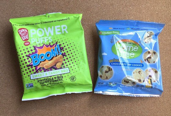 Snack Sack Subscription Box Review - July 2015 - BOOM