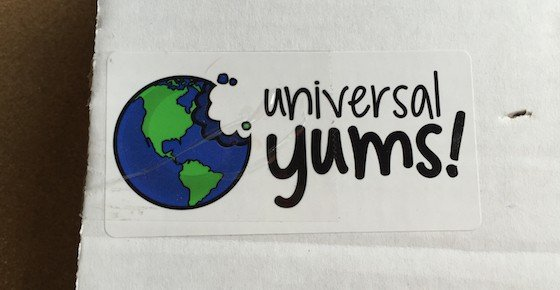 Universal Yums Subscription Box Review – June 2015 - Box