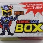 Comic Con Box Subscription Box Review - June 2015 - Box