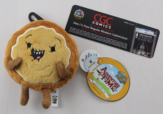 Comic Con Box Subscription Box Review - June 2015 - adventure-time