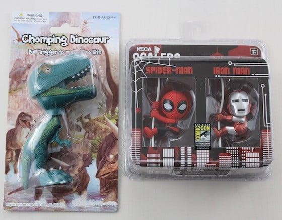 Comic Con Box Subscription Box Review - June 2015 - hangers