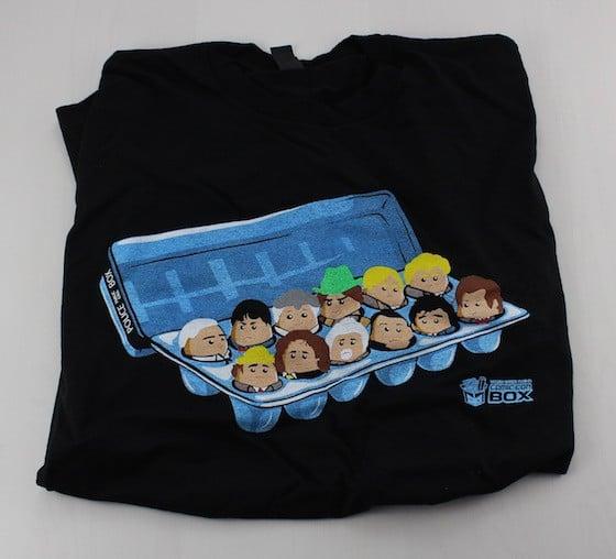 Comic Con Box Subscription Box Review - June 2015 - shirt