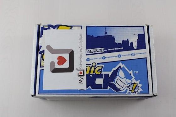 Comic Block Subscription Box Review + Coupon August 2015 - Box