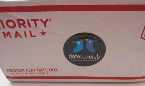 Date Box Club Subscription Box Review – August 2015
