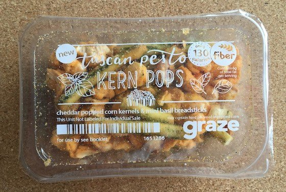 Graze Subscription Box Review + Free Box Coupon – August 2015 - Tuscan