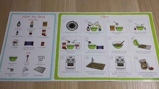 Raddish Kids Subscription Box Review – July 2015 - recipes-inside
