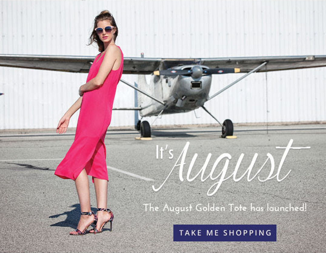 Golden Tote August 2015