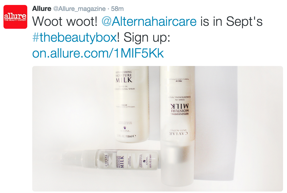 Allure Beauty Box Spoiler for September 2015