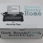 The Bookish Box Subscription Box Review – August 2015