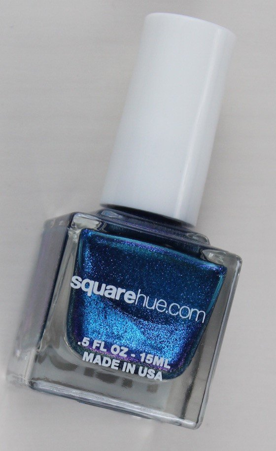 Square Hue Nail Polish Subscription Box Review – August 2015 Blue