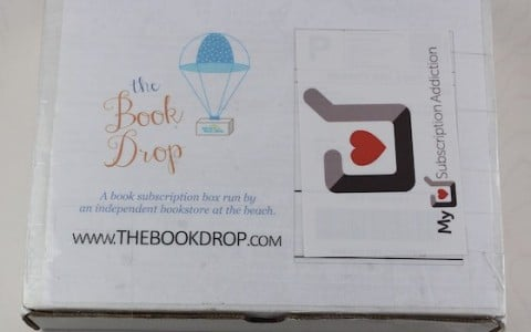"The Book Drop ""The Jane"" Subscription Box Review – August 2015"