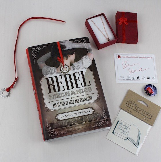 Uppercase YA Book Subscription Box Review – August 2015 Items