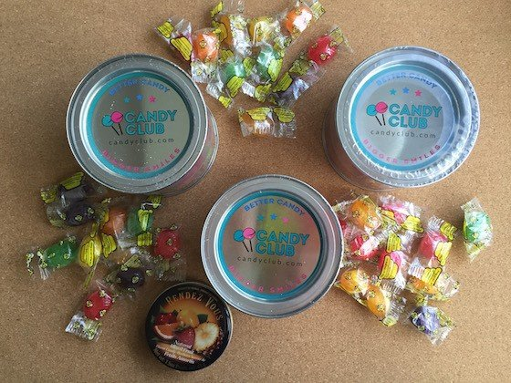 Candy Club Subscription Box Review + Coupon August 2015 - Unpacked