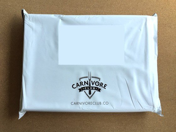 Carnivore Club Subscription Box Review September 2015 - Box