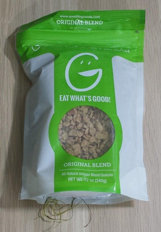 Isle Box Subscription Review September 2015 - granola